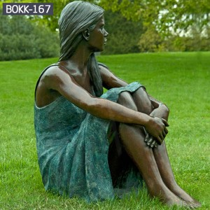 Lawn Sculpture Male Female Sculpture Custom Life Size Statues Custom Made Statues BOKK-167