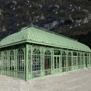 Custom Greenhouse/Sunroom Design Luxury  Iron Orangery for Sale