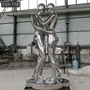 Abstract Stainless Steel Custom Metal Human Sculpture for Sale CSS-118