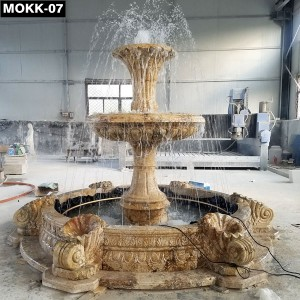 Project High Quality Life Size Marble Fountain MOKK-07