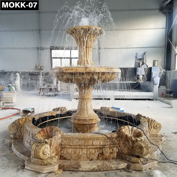 Project High Quality Life Size Marble Fountain MOKK-07 Featured Image