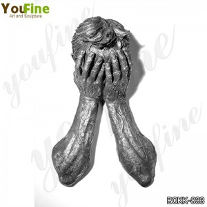 Bronze Figure Sculpture Modern Wall Decor Manufacturer BOKK-833