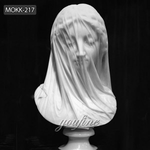 veiled vestal virgin statue veiled virgin replica MOKK-217