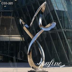 Modern Abstract Metal Garden Sculpture for Sale CSS-220