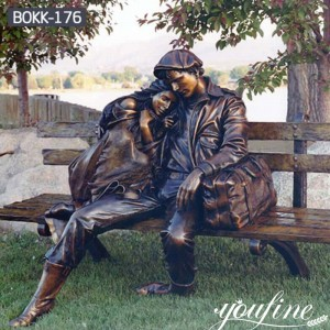 Outdoor Bronze Sculpture for Garden Decor for Sale BOKK-176