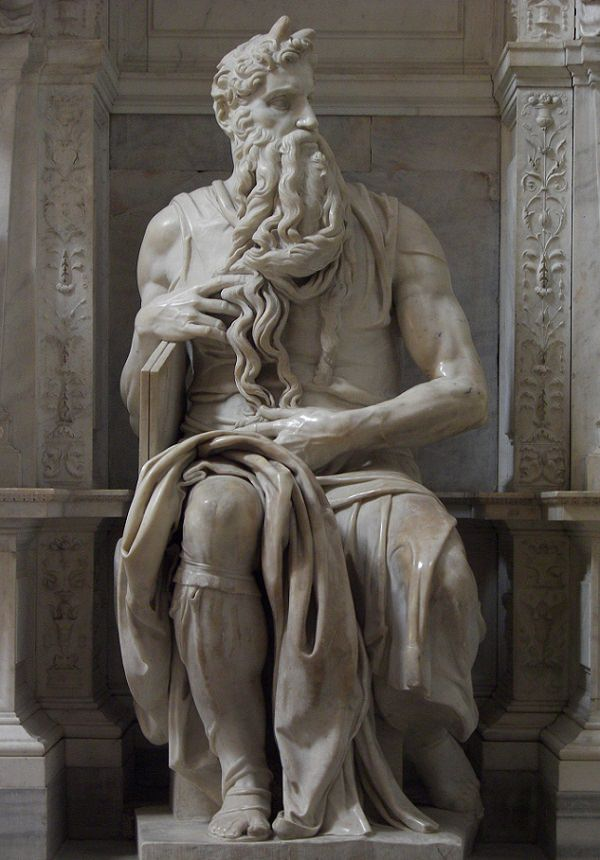 One Of The World Famous Top 10 Sculpture-Moses by Michelangelo