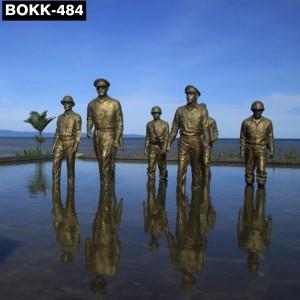 Bronze Military Statues Seven Famous Bronze Sculptures for Sale BOKK-484