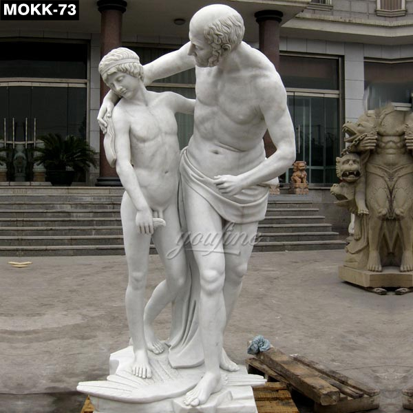 Famous Greek Statue Father and Son for Sale MOKK-73 Featured Image