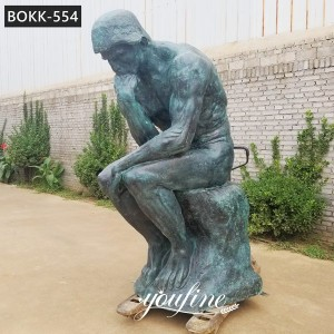 World Famous The Thinker Bronze Statue for Sale BOKK-554