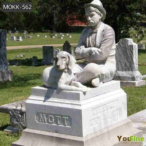 Hand Carved Marble Custom Headstone Prices Near Me MOKK-562