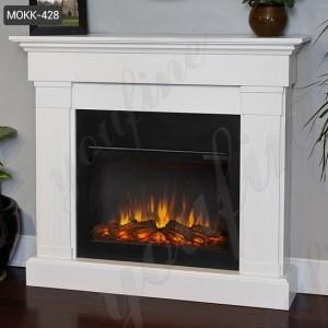 High Quality Modern Marble Fireplace Mantel for Sale MOKK-428
