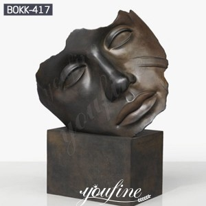 Outdoor Large Bronze Face Art Sculpture Igor Mitoraj Replica for Sale BOKK-417