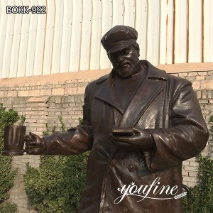 Fine Cast Bronze Customized Statue for US ClientBOKK-922