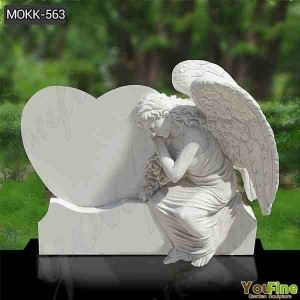 High Quality Marble Grave Angels Ornaments with Cheap Price MOKK-563