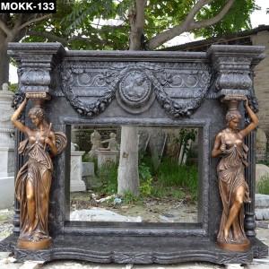 Modern Marble Fireplace Mantel MOKK-133