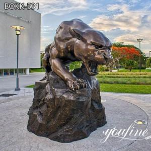 Fine Cast Bronze Black Pather Sculpture for Sale BOKK-531