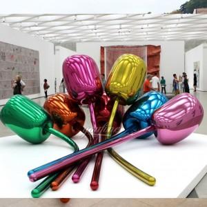 jeff koons tulips mirror sculpture for sale CSS-18