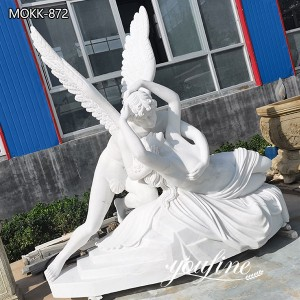 Famous Marble Cupid and Psyche Statue Garden Decor for Sale MOKK-872