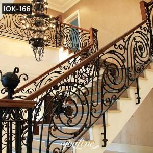 Ornamental Wrought Iron Balustrades Interior Decor on Discount IOK-166
