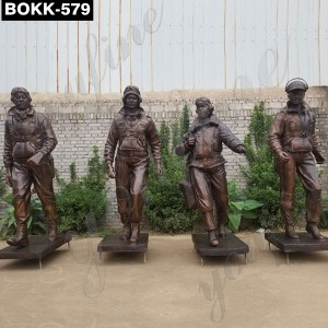 Famous America Tuskegee Airmen Statue BOKK-579