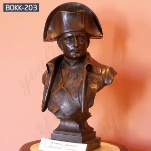 Custom Bust Bronze Bust Statue Bronze Bust Sculpture of Napoleon BOKK-203
