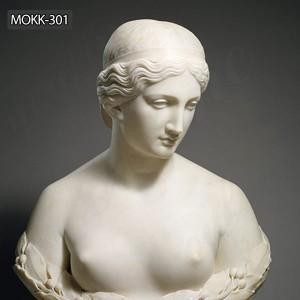 Marble lady bust statue harriet hosmer daphne bust statue for sale MOKK-301