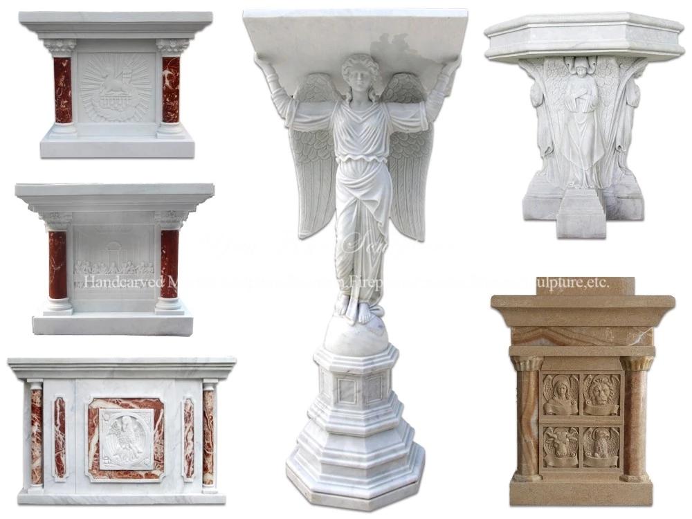 Marble altar table