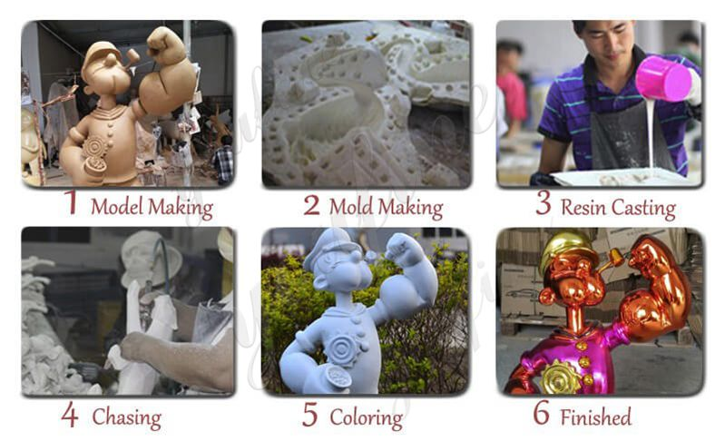 Process-of-Famous-Fiberglass-Jeff-Koons-Popeye-Statue-Replica