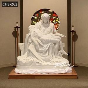 Outdoor Catholic Marble Pieta Statue for Sale CHS-262