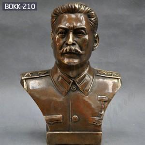 Custom Bust Sculpture Custom Bust Statue Bronze Bust Sculpture of Russian Leader Joseph Stalin BOKK-210
