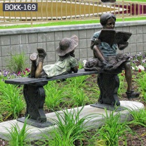 Bronze Figure Statue Bronze Statue for Garden Custom garden Statues Metal Yard Decorations BOKK-169