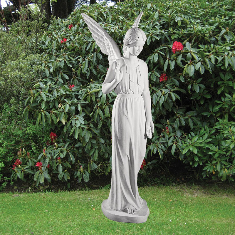 Hand Carved Life Size Stone Garden Statues For Sale