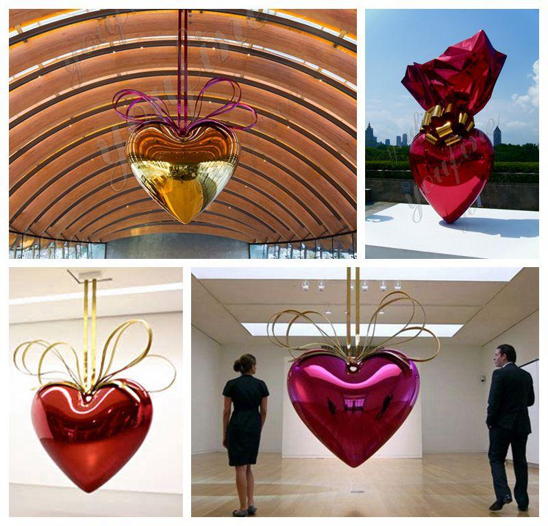 jeff koon art heart design-2