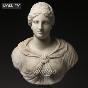 Marble home decor greek roman goddess artemis diana bust head MOKK-270