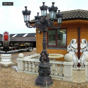 Outdoor decor victorian street lamps for sale IOK-142
